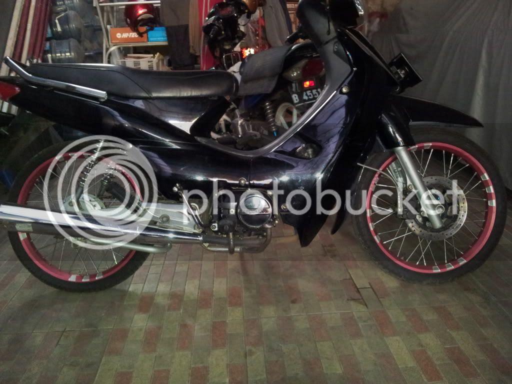 Foto Modifikasi Motor Supra Fit Thn 2004 Terkeren Dan