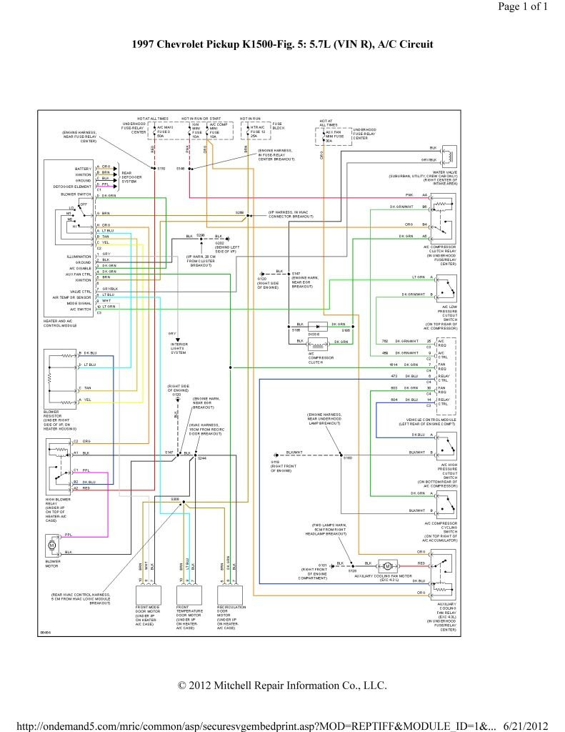 hight resolution of ac wiring diagram 05 chevy avalanche wiring diagram for you
