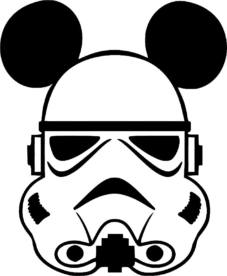Stormtrooper Helmet Silhouette : stormtrooper, helmet, silhouette, Helmet:, Stormtrooper, Helmet, Silhouette