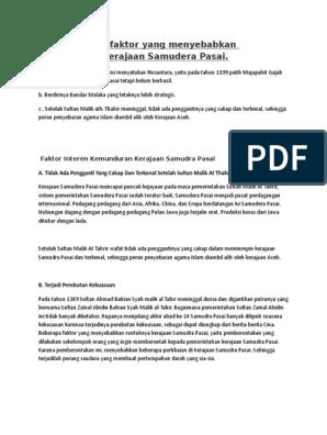 5. Faktor Kemunduran Kerajaan Sriwijaya - Sinibelajar