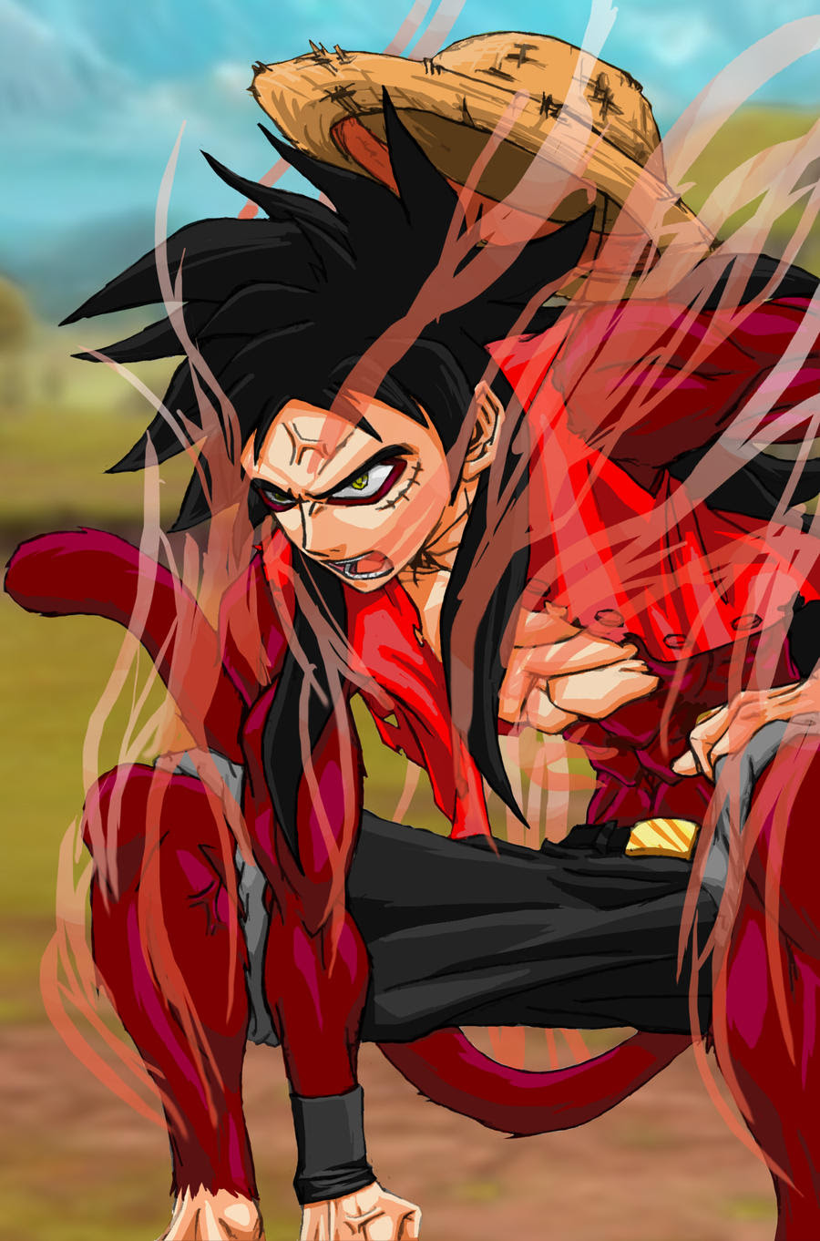 Gear second, gear 4, tank man, gear 5, snake man, pound man. Gear 5 Luffy Luffy Gear 5 Wallpapers Wallpaper Cave The One Piece Team Is The The Luffy 5 Passionate Group Japanesetoptatto