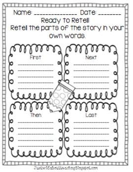 reading comprehension: Story Retell