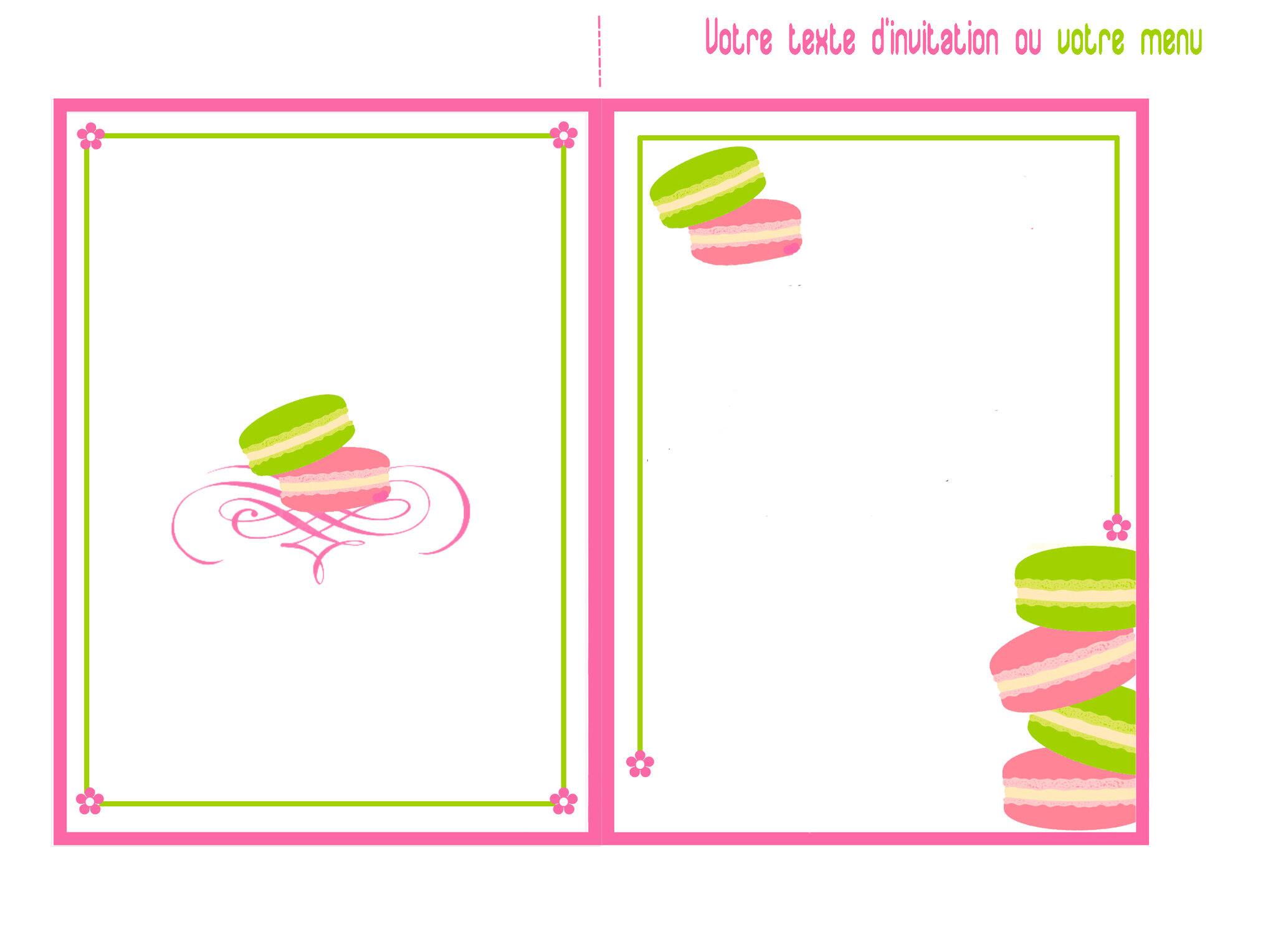 carte d anniversaire vierge a imprimer