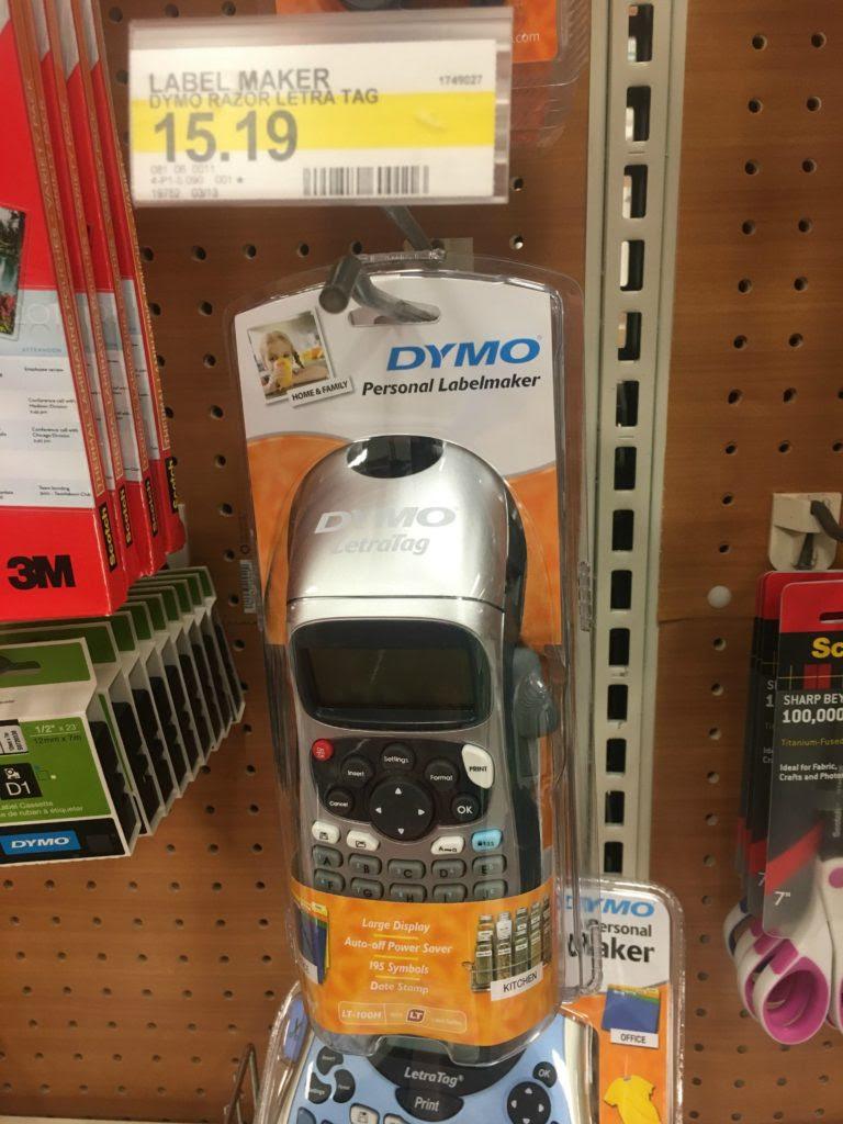 Dymo Label Maker Target : label, maker, target, Target, Label, Maker, Labels, Ideas