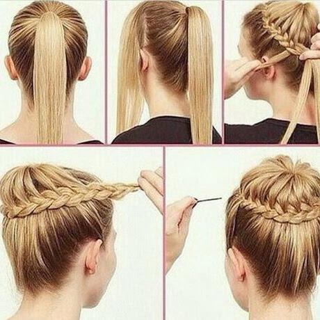 Frisuren Lange Haare Hochstecken Einfach Frisur Frisur