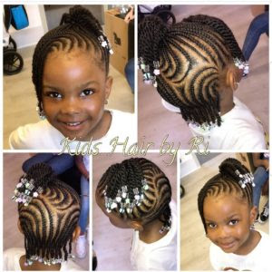 Hairstyles For Little Black Girls With Beads Quaebella