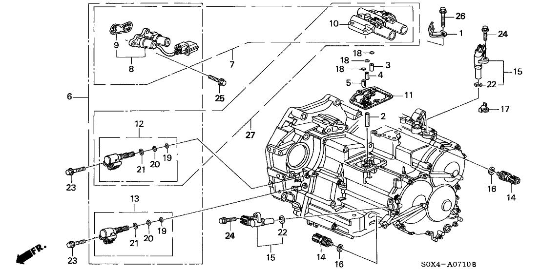 1990 Acura Integra Fuse Box Diagram