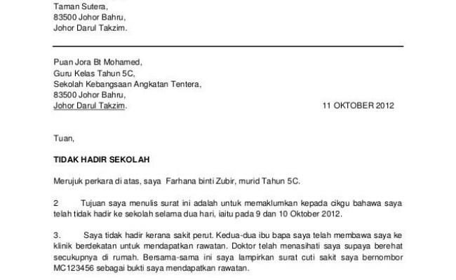 Contoh Surat Permohonan Pertukaran Hospital Selangor M Cute766