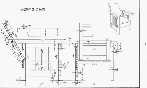Guide to Get Popular woodworking morris chair plans