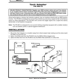 mallory tach adapter wiring [ 954 x 1235 Pixel ]