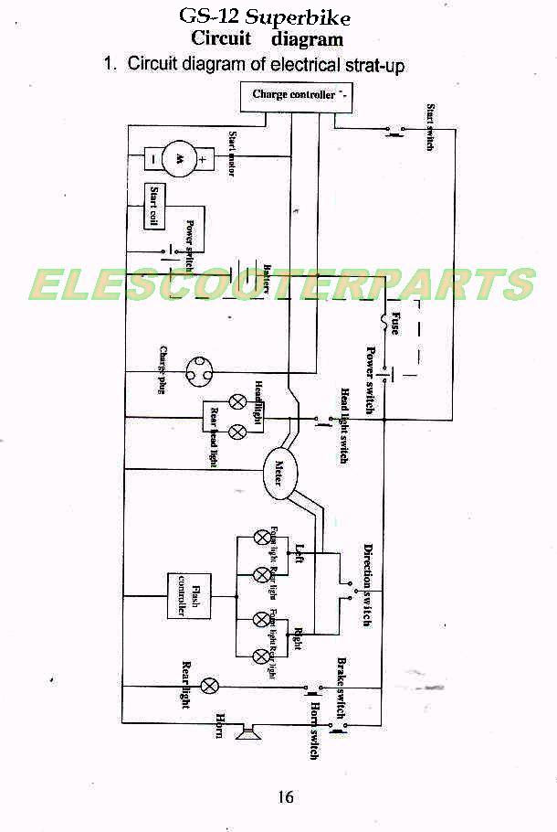 Pit Bike Wiring Diagram Kick Start : wiring, diagram, start, Wiring, Diagram, Networks