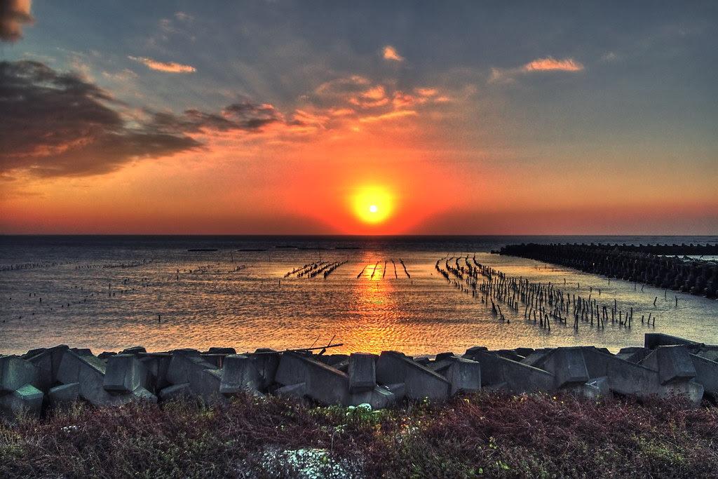 玩攝影,拍風景: 海岸!夕陽!臺灣之美