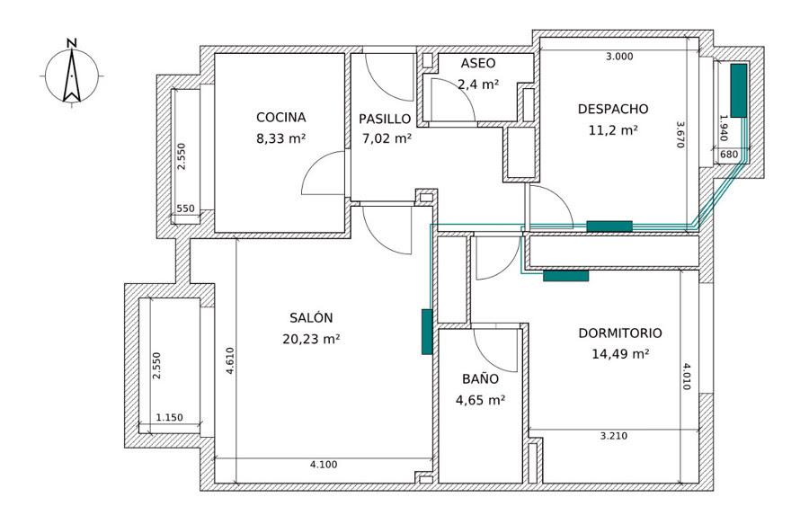 Aire acondicionado split: Precio por instalar aire