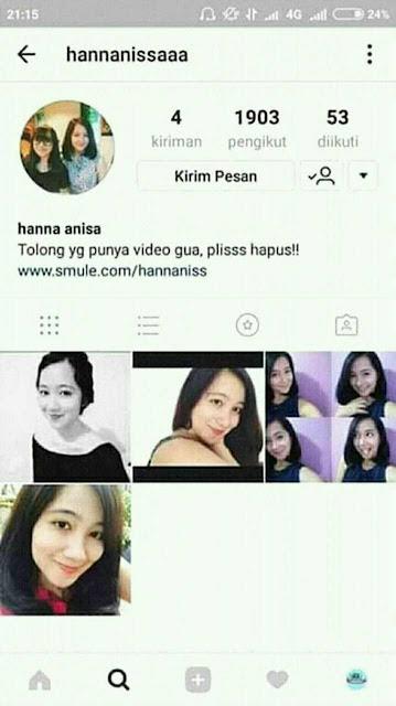 Video Mesum Hana Annisa : video, mesum, annisa, Anisa