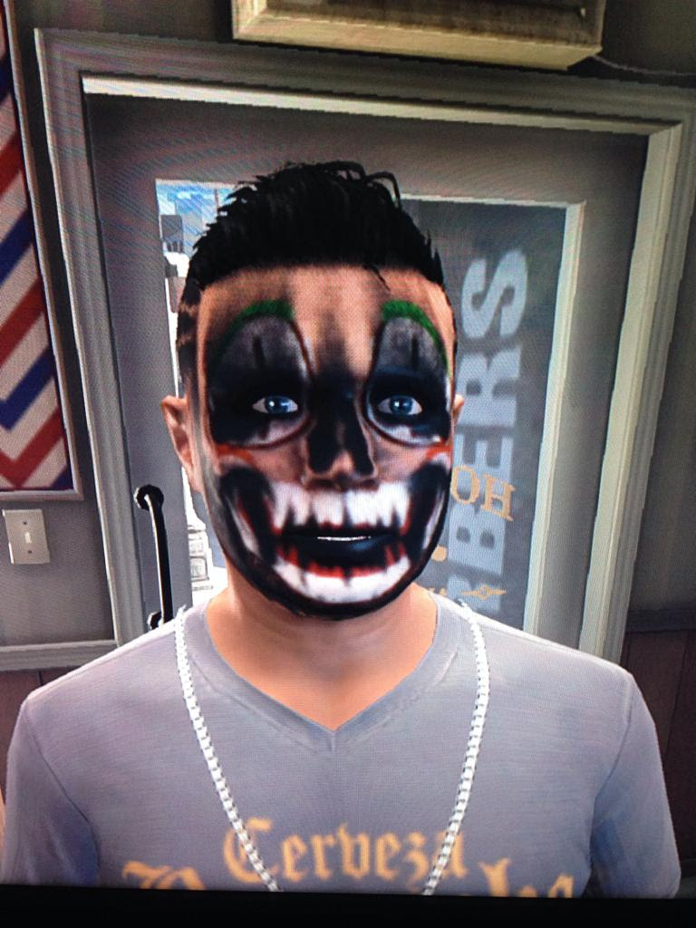 Gta 5 Face Paint : paint, Skull, Paint, Ideas