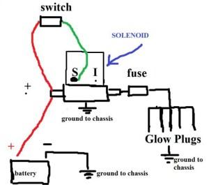 Glow Plug Timer Circuit | Circuit Diagram Images