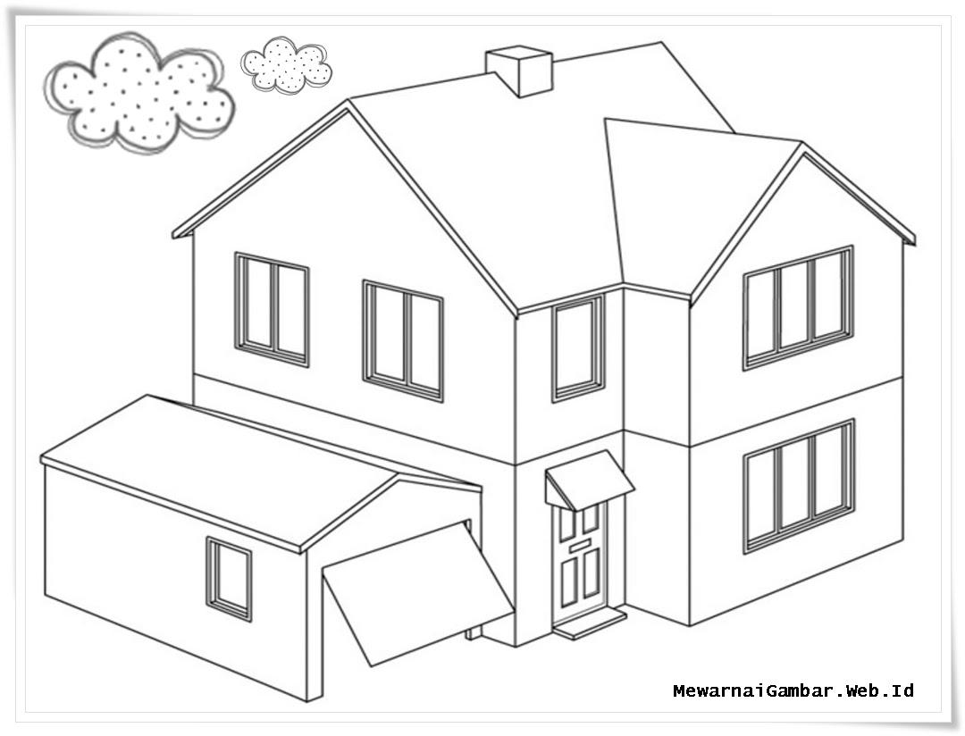 Gambar Rumah Joglo Hitam Putih Rumah Joglo Limasan Work