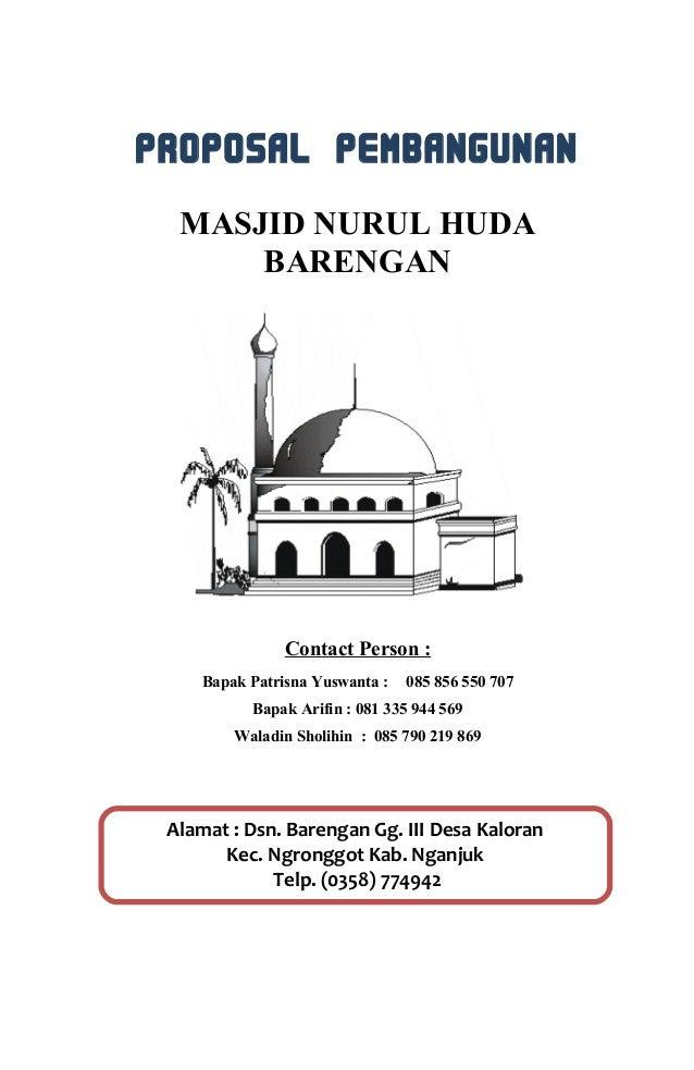 Proposal Masjid Doc : proposal, masjid, Contoh, Proposal, Pembangunan, Masjid, Ternyata, Kabar, Viral