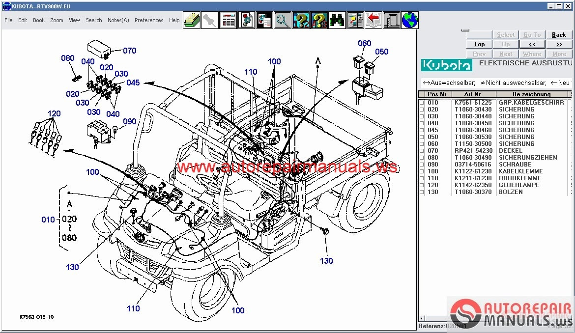 hight resolution of free auto repair manual kubota tractors construction