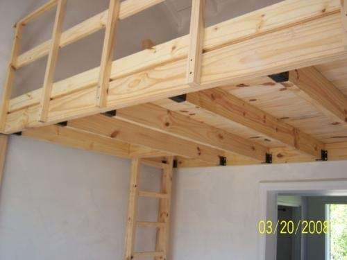Casas de madera prefabricadas Altillos en madera bogota