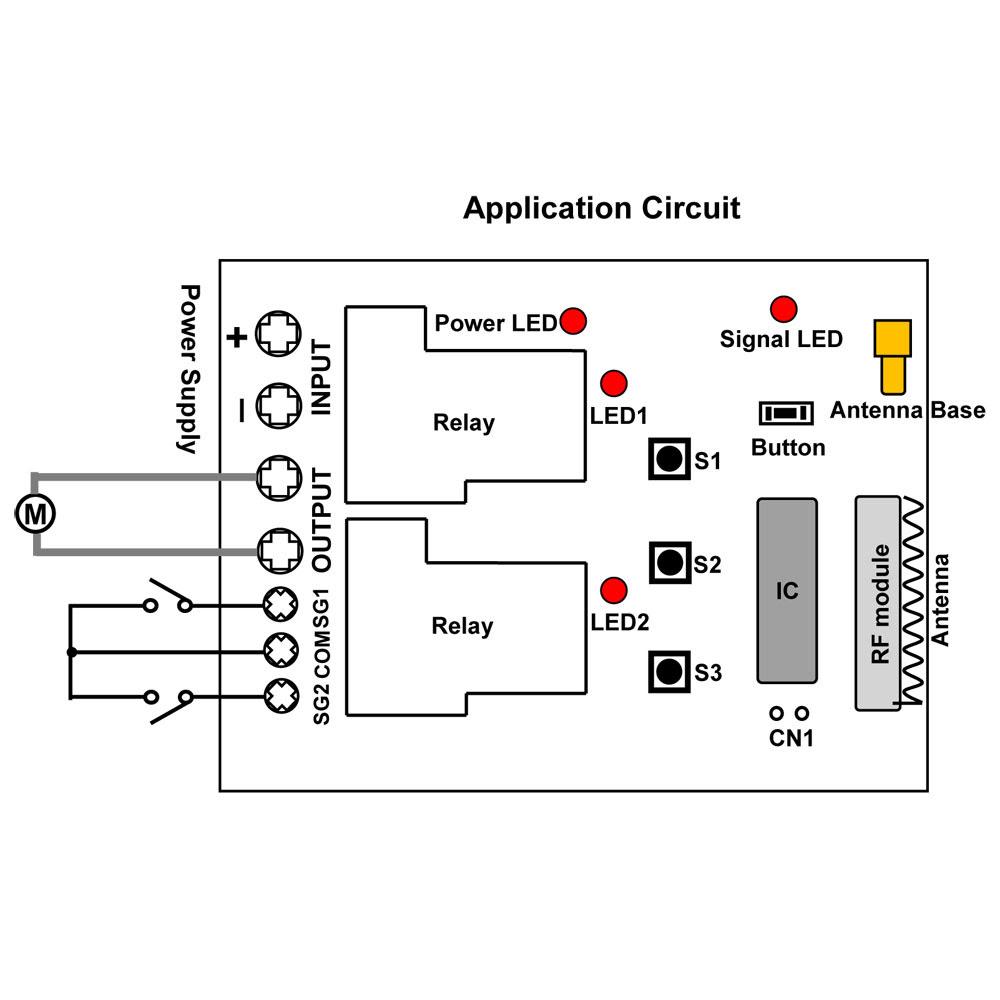 I'm Yahica: Rf Remote Circuit Diagram For Kids Car