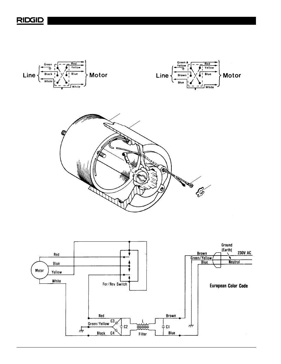 medium resolution of ridgid 4 wire 220v plug wiring diagram