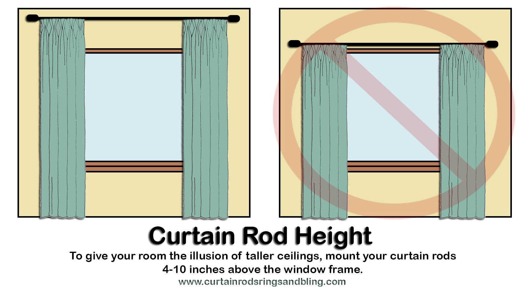hang curtain rods like a pro mcleod