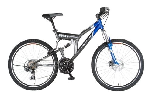 Mountain Bikes: Victory Vegas Low Mountain Bike (Blue/Gray