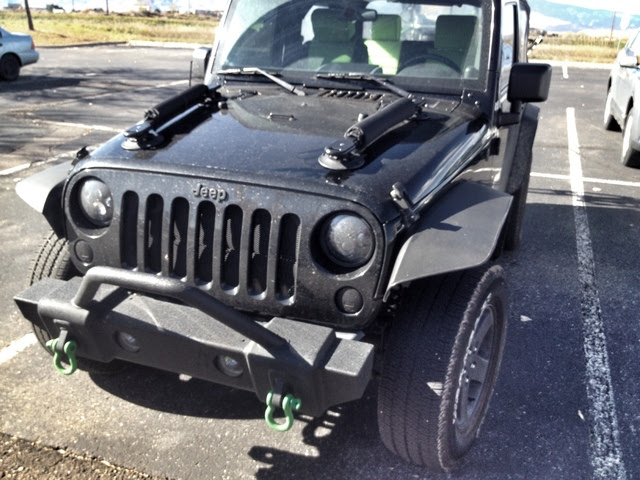 jeep wrangler snowboard rack