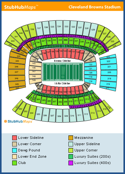 Seating Chart Firstenergy Stadium : seating, chart, firstenergy, stadium, Firstenergy, Stadium, Seating, Chart, Gallery
