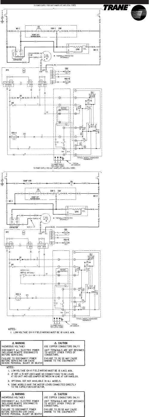 Wiring Diagram: 29 Trane Condenser Wiring Diagram