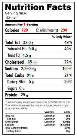 Kfc Nutrition Pdf   Besto Blog