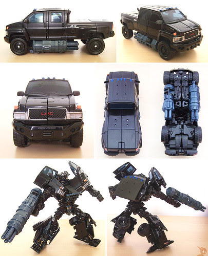 What Kind Of Truck Is Ironhide : truck, ironhide, Transformers, 2007:, Brawl,, Voyager, Ironhide, Chess