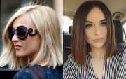sharp blunt bob hairstyles