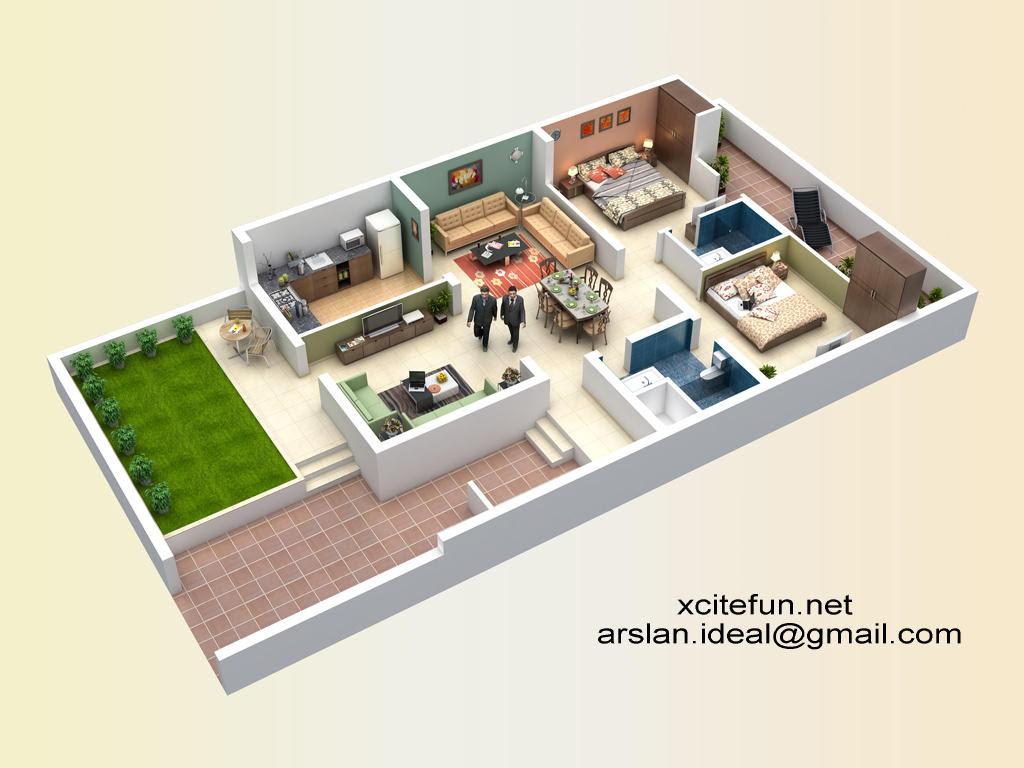 Marvelous 7 Marla House Design 3d Pictures Image Design House Plan