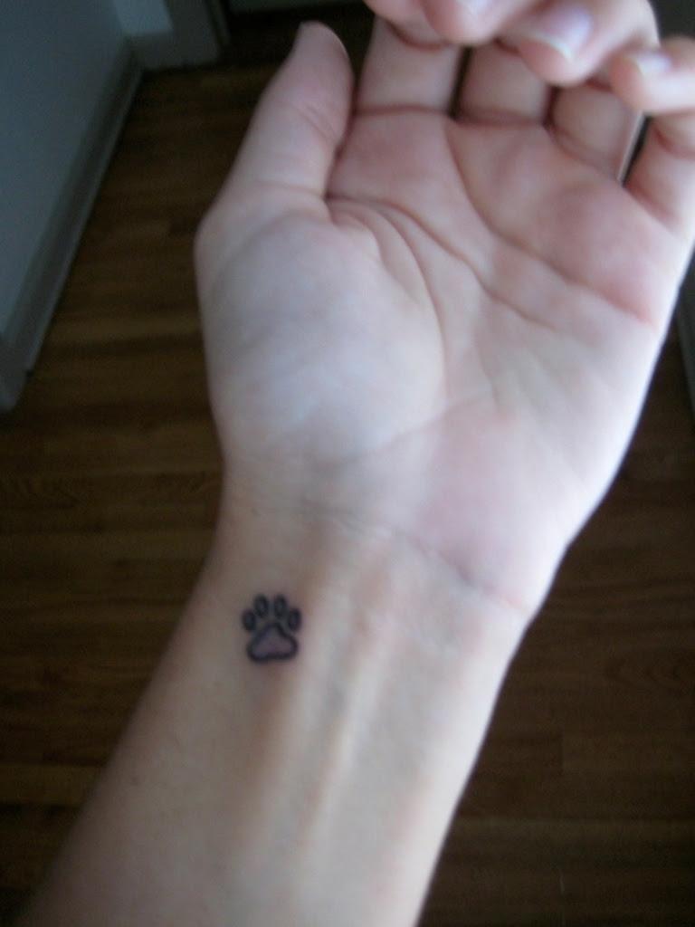 Dog Paw Print Tattoo On Wrist : print, tattoo, wrist, Print, Tattoos, Wrist, Tattoo, Gallery, Collection