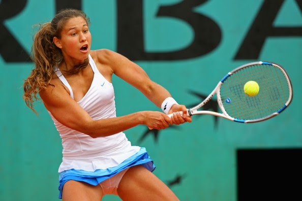 Hot Hits Female Tennis Players Vitalia Diatchenko