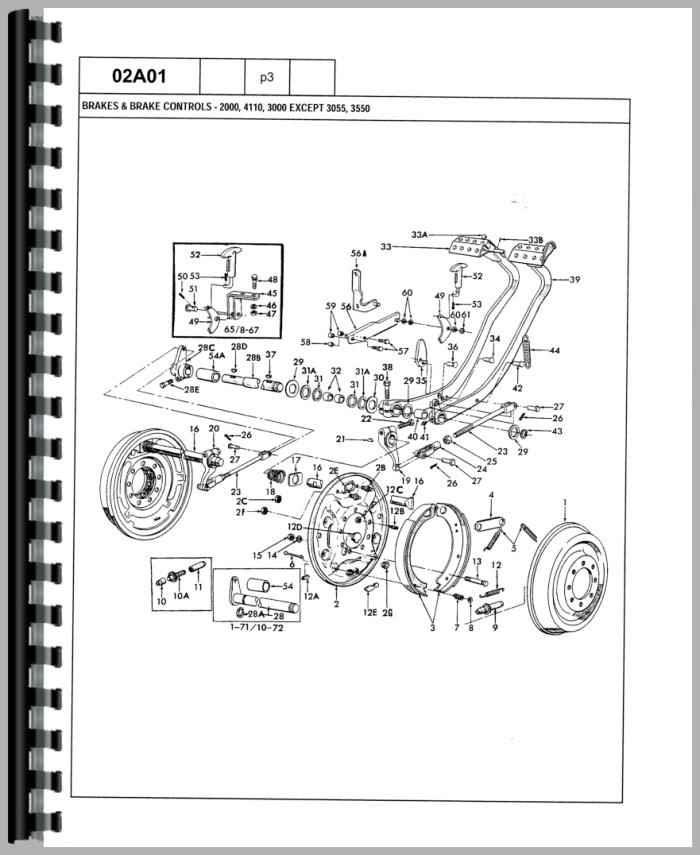 Ford 5000 Tractor Parts Diagram : tractor, parts, diagram, Tractor, Engine, Schematic, Wiring, Diagram
