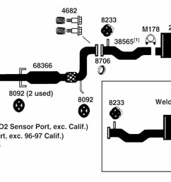 1992 honda accord engine diagram exhaust [ 1500 x 695 Pixel ]