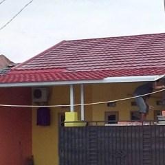 Kanopi Baja Ringan Genteng Pasir Rumah Idaman Canopy Atap