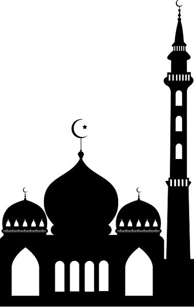 Logo Musholla Hitam Putih : musholla, hitam, putih, Mushola, Masjid, Hitam, Putih, Nusagates