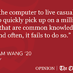 Wang | On Yesterday, Song-writing And Artificial Intelligence - Cornell University The Cornell Daily Sun