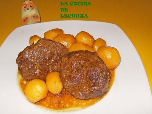 LA COCINA DE LECHUZARecetas de cocina con fotos paso a paso RECETA GALLEGA JARRETE DE TERNERA