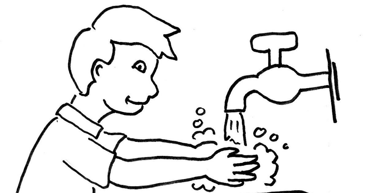 Kumpulan Gambar Karikatur Cuci Tangan | Puzzze