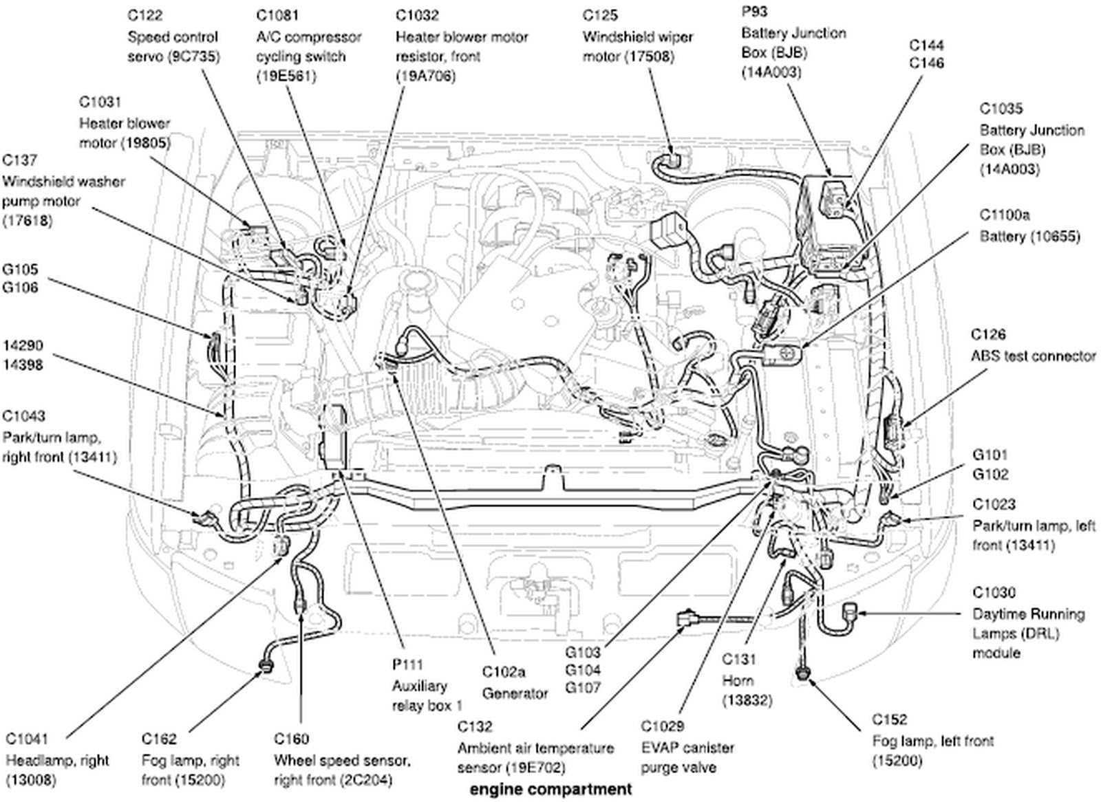 hight resolution of 2014 ford focus parts diagram components 23 campusmater com