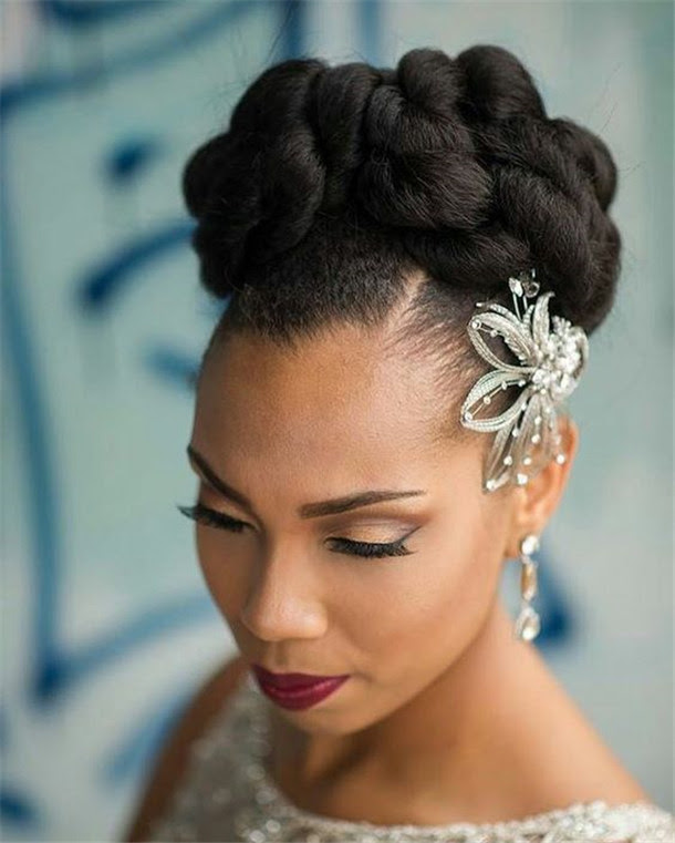 Black Bridesmaids Hairstyles 2018