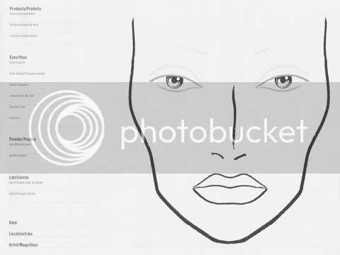 I'm Honeyhoneybakedham. : Basic simple makeup, [face charts].