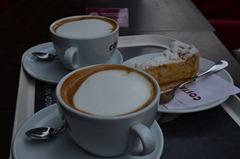 the cafe on Terez Korut