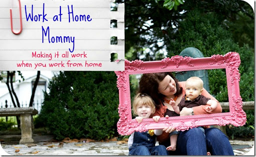 Work at Home Mommy Button