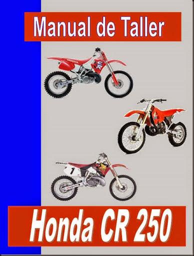 manual taller honda cr 250